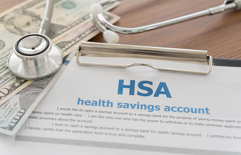HSA form and money