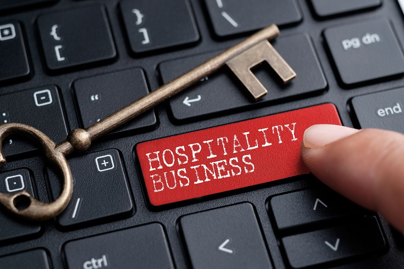 computer key hospitality industry