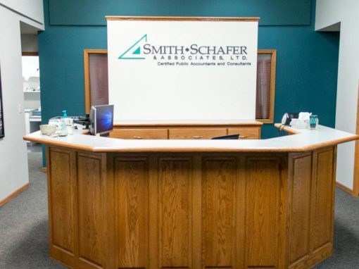 Smith Schafer Red Wing lobby area