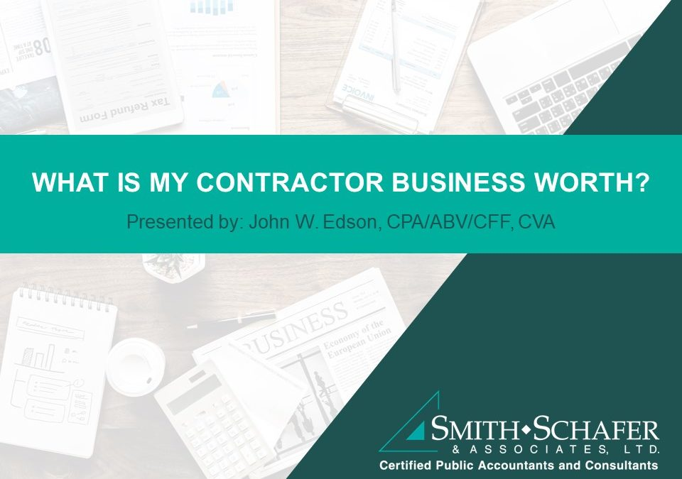 What is My Contractor Business Worth