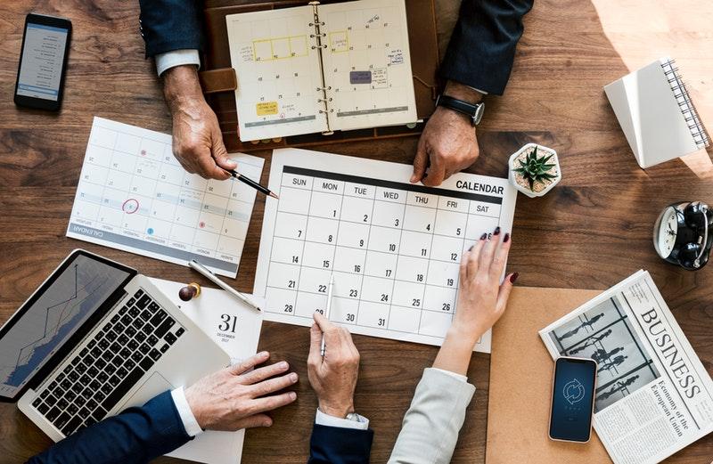 2019 Tax Deadline Calendar