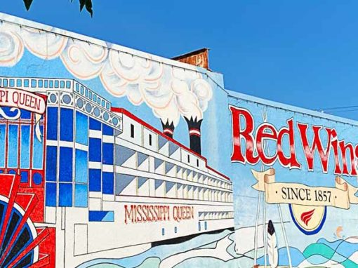 Red Wing, MN wall mural