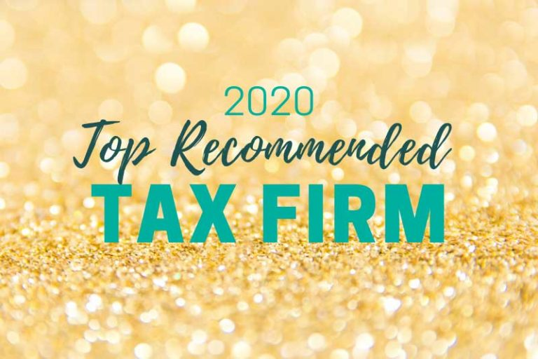 2020 top recommended tax firm header image