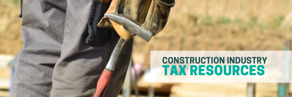 construction industry tax resources graphic