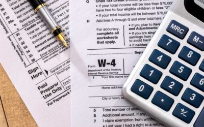 New W-4 For 2020