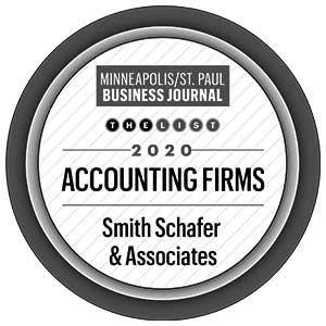 Minneapolis St Paul Business Journal 2020 accounting firms logo