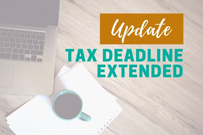 Tax deadline extended graphic