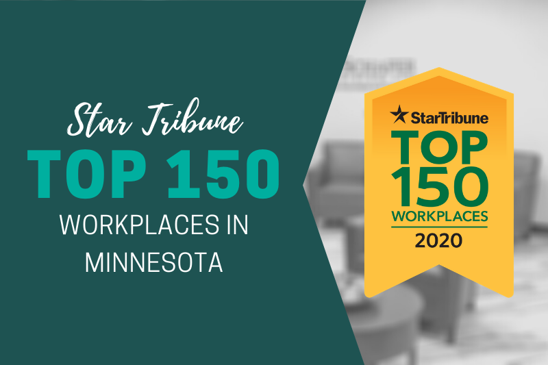 Smith Schafer Named Top 150 Workplaces in Minnesota by the Star Tribune