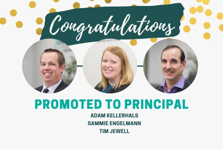 2020 Principal promotions