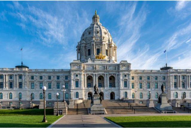 Minnesota state capitol blog image