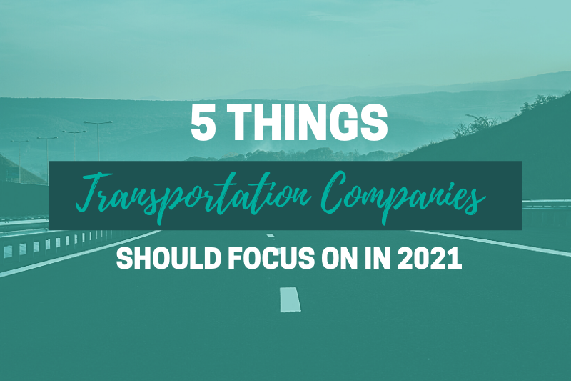 5 things transportation companies should focus on header